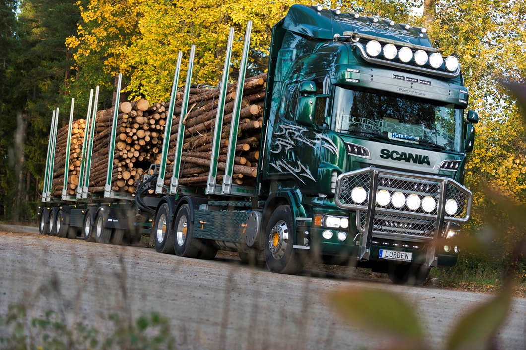 Digital automatic scanning and measurement of log loads improves efficiency