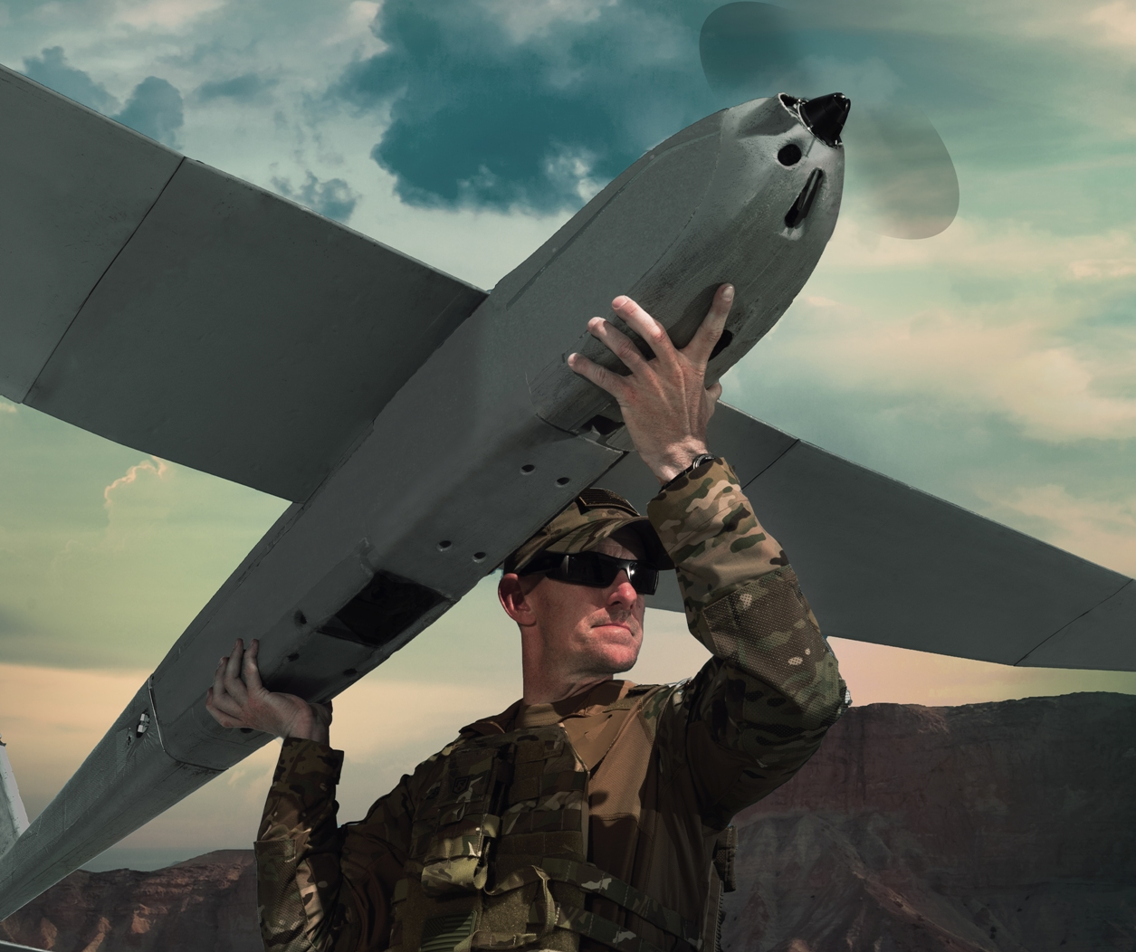 High Density Battery Provides Additional Flight Time for UAV
