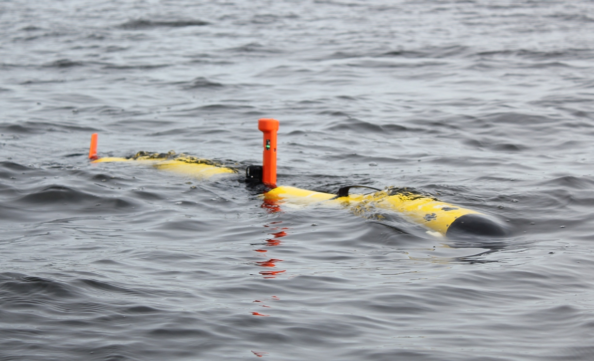 Autonomous Underwater Vehicle Can be Used for Surveillance Operations