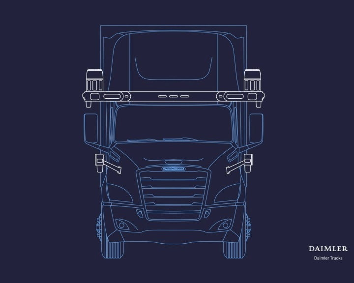 Partnership to develop version of Freightliner Cascadia lorry with level 4 autonomy