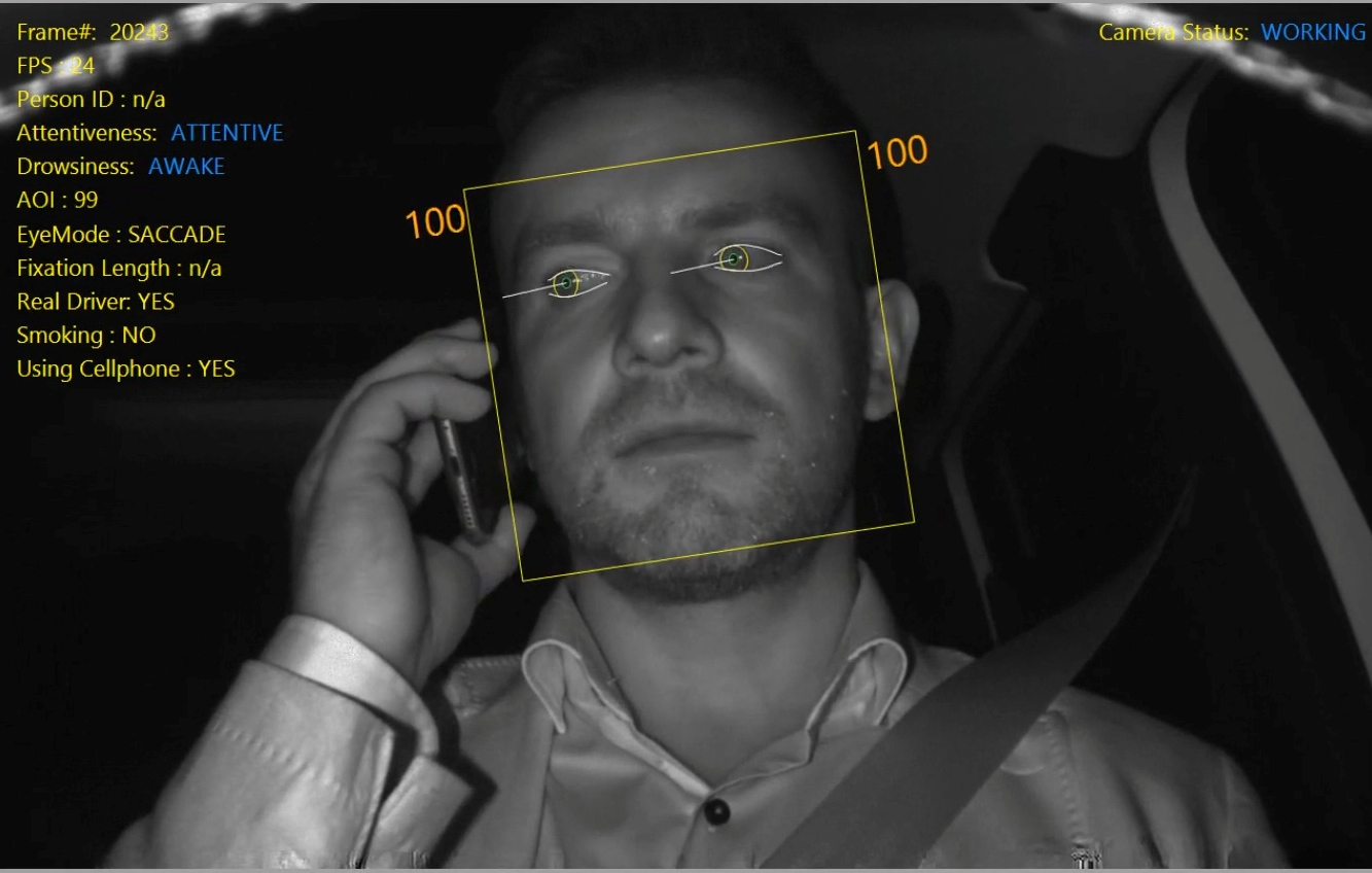 SEAT driver surveillance system aims to reduce accidents caused by drowsiness or distraction