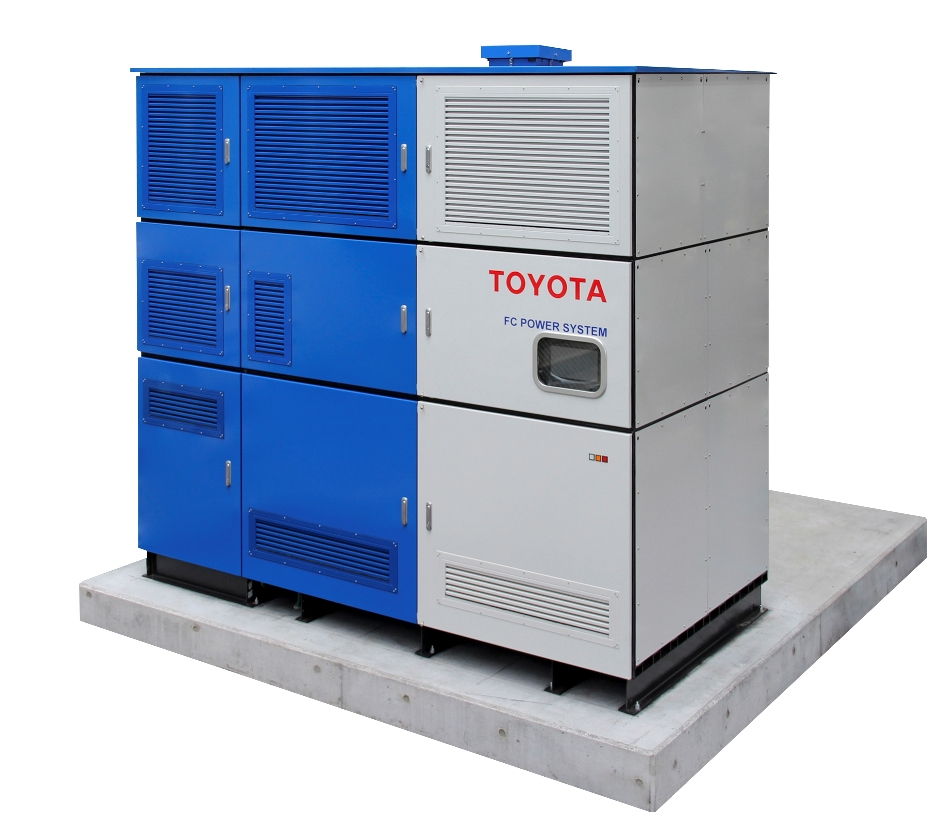 50kW fuel cell generator undergoes verification testing by Toyota
