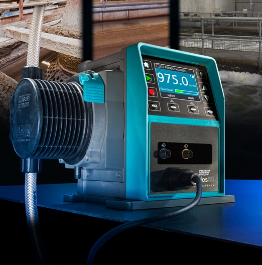 Chemical metering pumps gain better output connectivity for improved monitoring