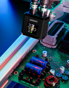 Compact MicroHAWK cameras can be robot mounted for visual inspection