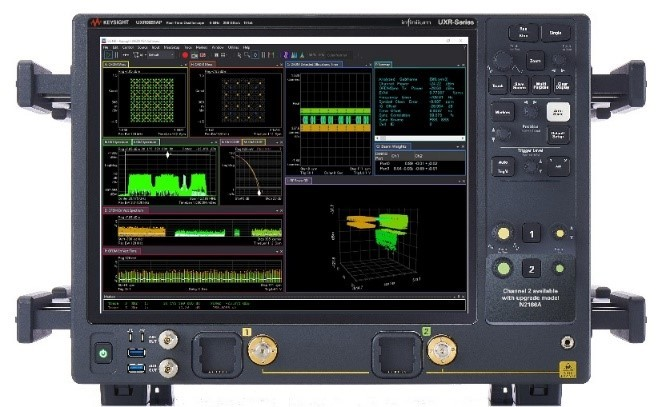 Keysight test equipment is being used to validate 5G devices