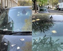 New tests at Ford assess the resistance of painted surfaces to bird droppings
