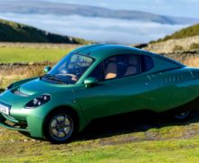 The hydrogen powered Rasa electric coupe is planned to be built in Wales