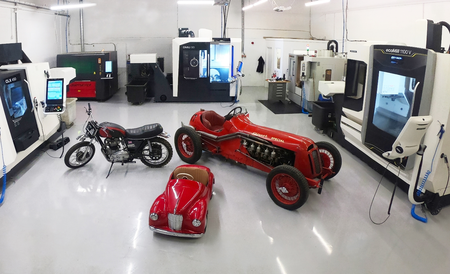 Modern manufacturing and test equipment ensure success for retro automotive products