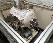 Proton radiation chamber provides representative environment for satellite electronics