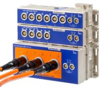 DAQ modules for battery cells or modules in electric vehicles