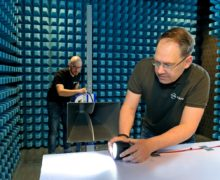 EMC test laboratory helps understand the interaction of lighting with the environment