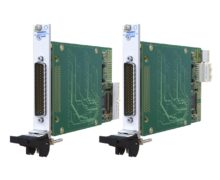 Rack mounted PXIPXIe multiplexer module supports MIL-STD-1553 testing