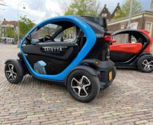 Axial Flux Technology in-wheel motors were used to prove their efficiency in side-by-side Twizy tests