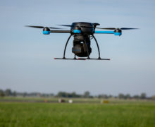 Drones offer a new approach to testing antennas pointing at Low Earth Orbit satellites
