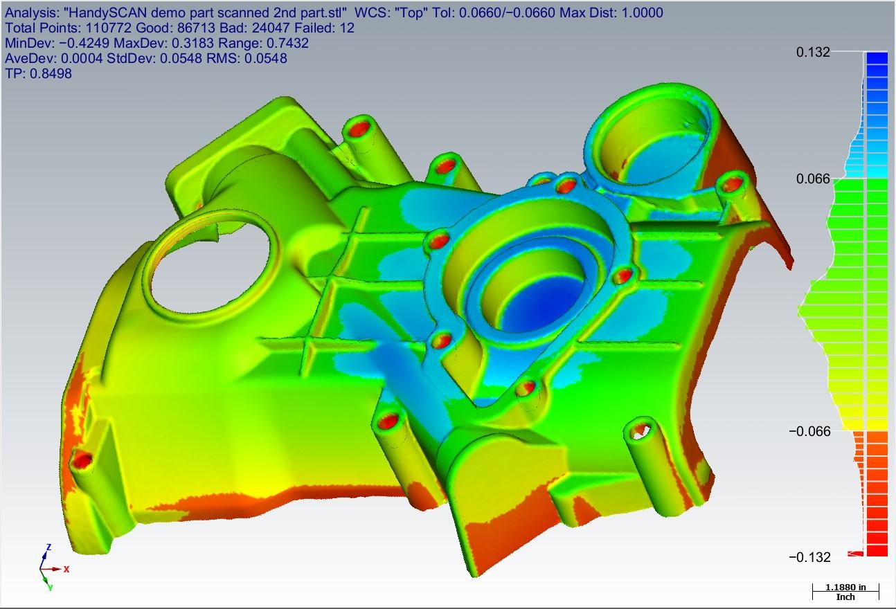 3D Verisurf surface model