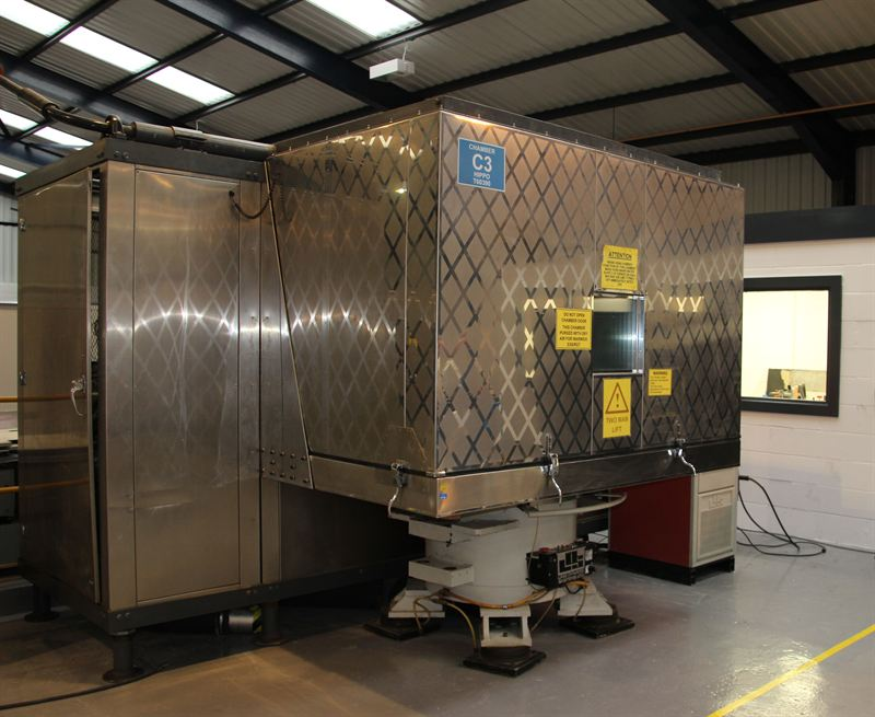 Accelerated stress testing facility for drive trains