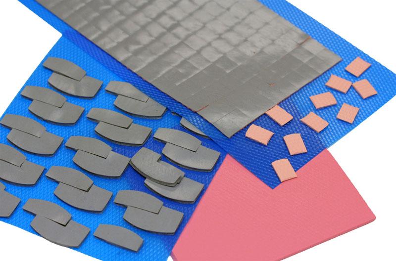 Automotive gap filler pad