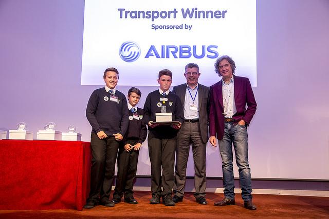 Award winning Teen Tech team