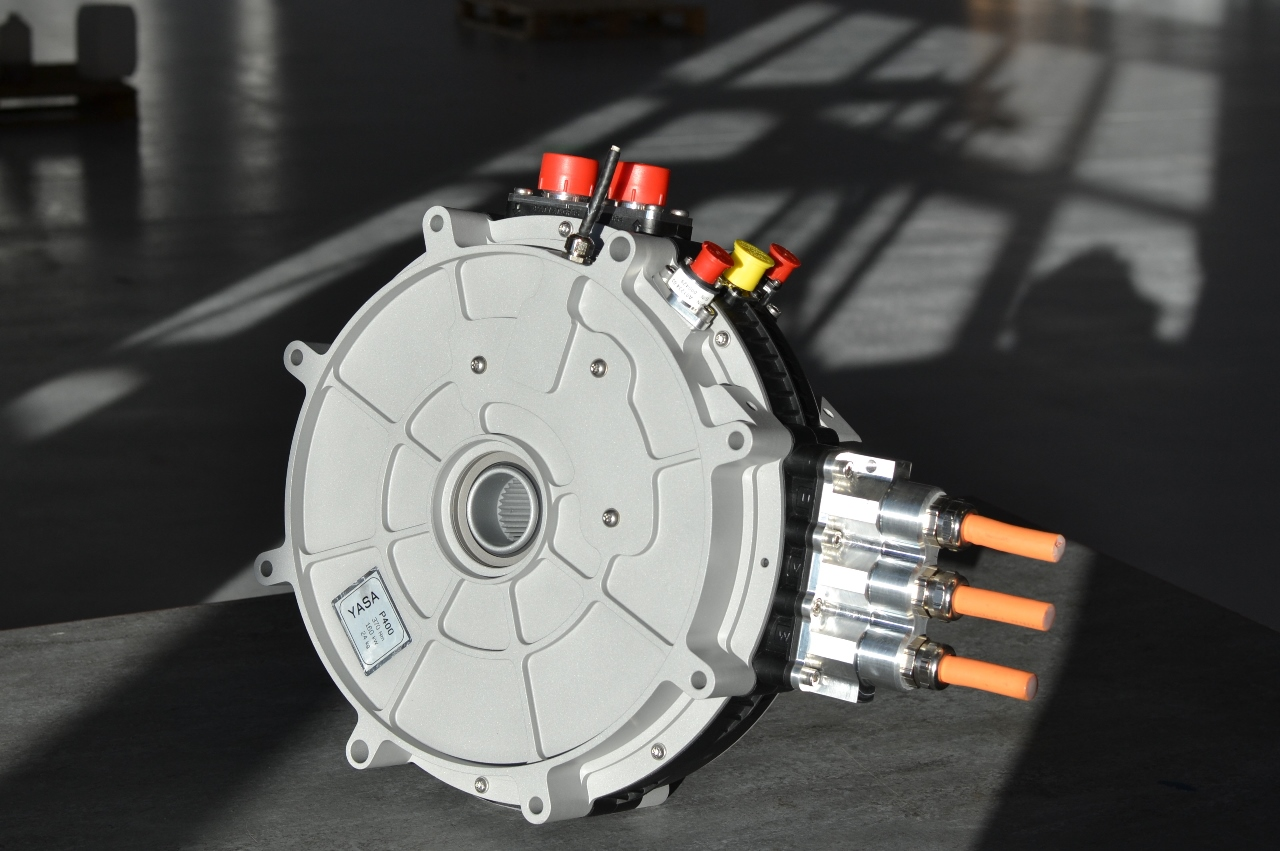 Axial-flux electric motor for the automotive industry