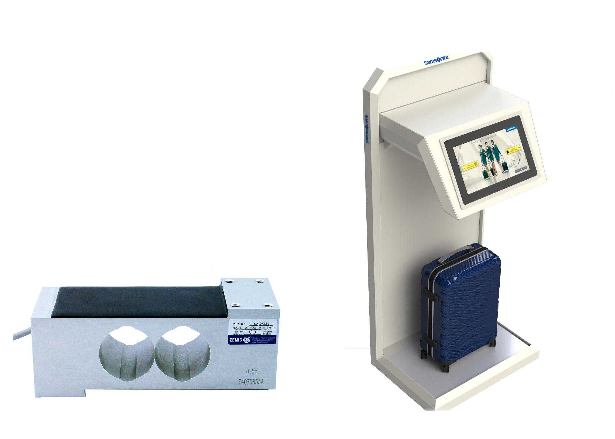 Baggage weighing machine