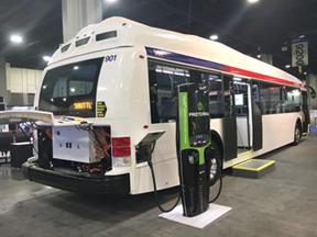 Branded fast charging system for US bus manufacturer