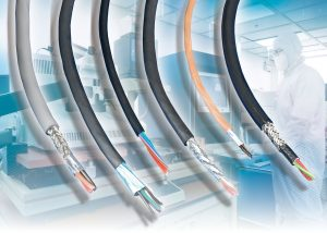 Cleanroom cables available with different levels of EMI shielding