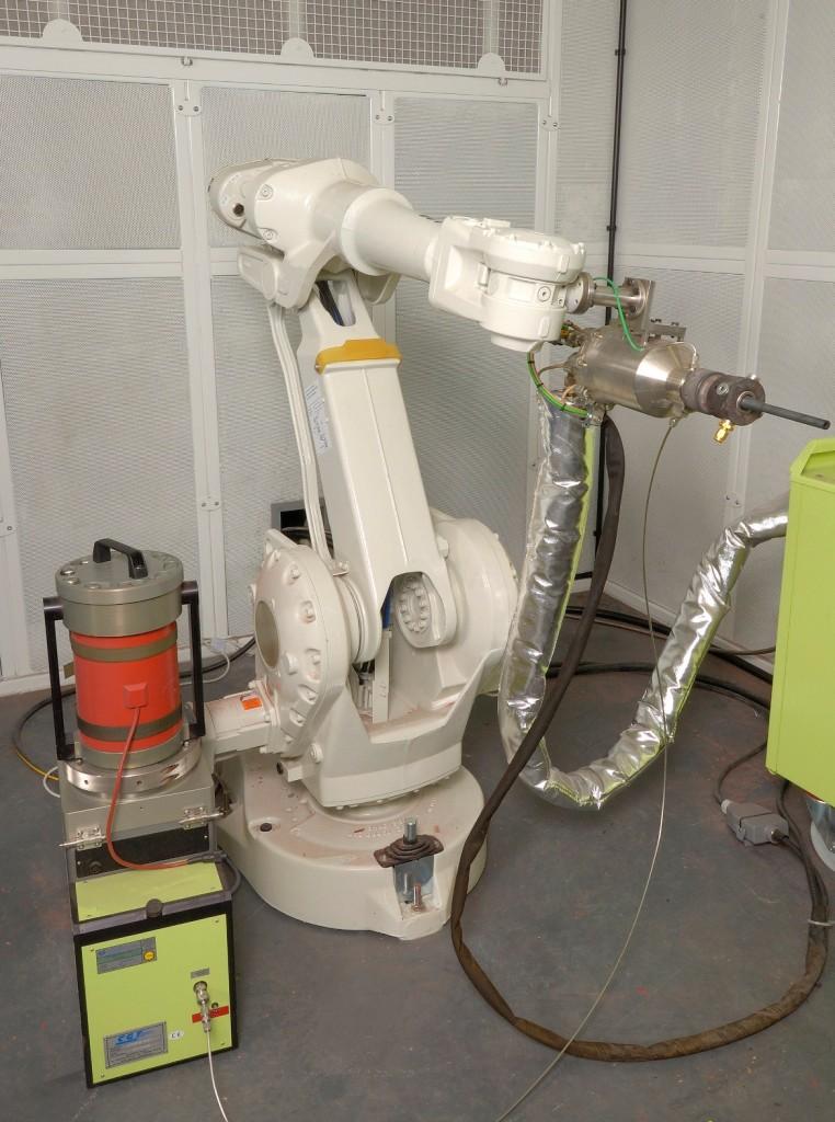 Cold spray repair robot