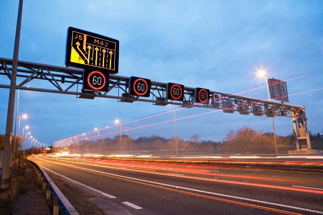 Communication systems critical to UK highway infrastructure