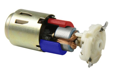 Iron core vs ironless dc motors for Dc motors car sales
