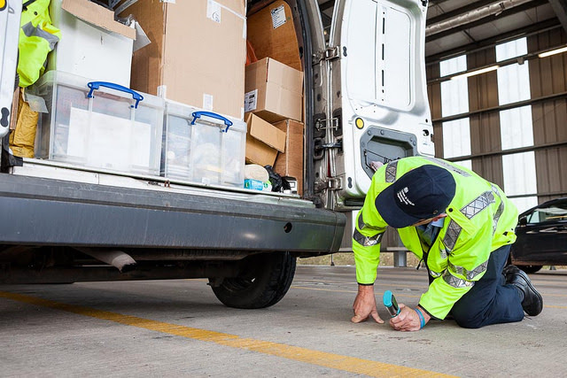 DVSA light commercial vehicle inspection