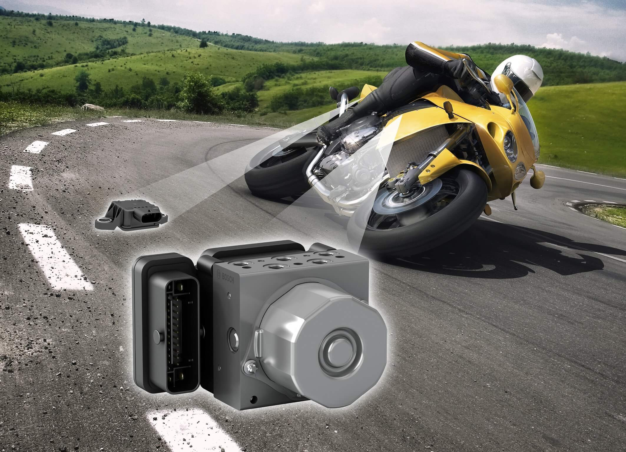 Electronic Stability Control for motorcycles