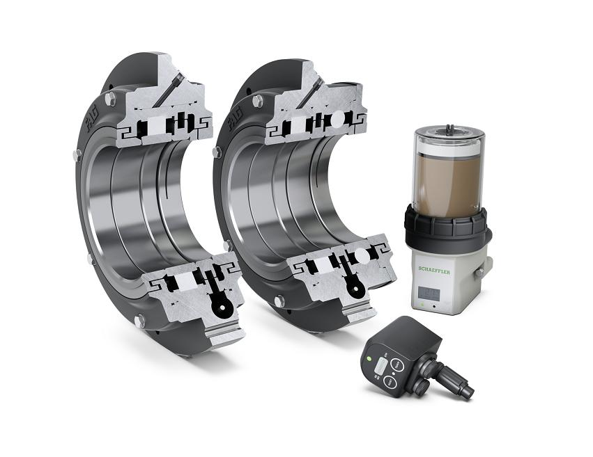 FAG flanged bearing housing unit