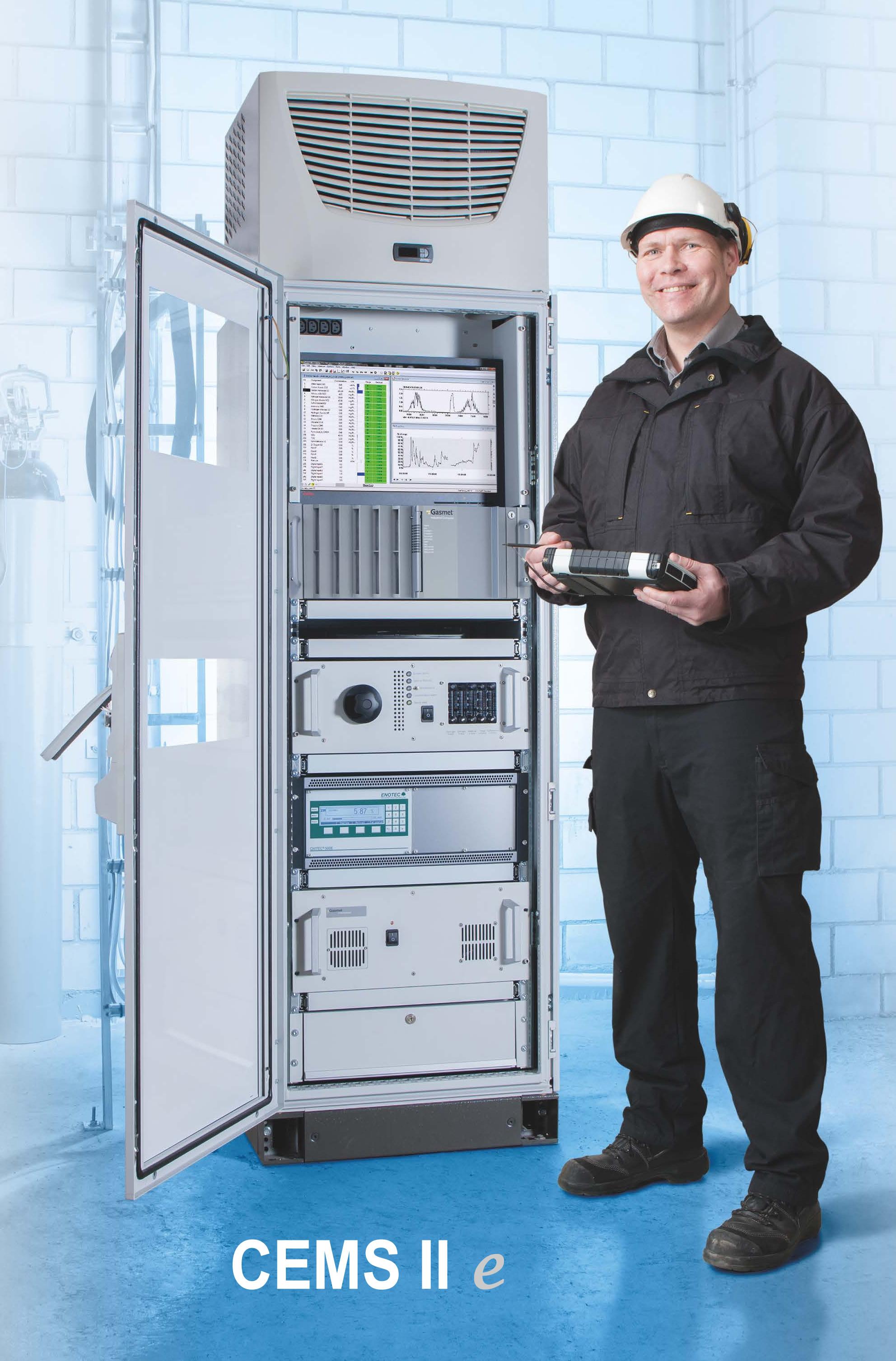 FTIR gas emissions analyzer