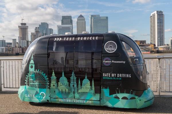 Greenwich based GATEway autonomous pod