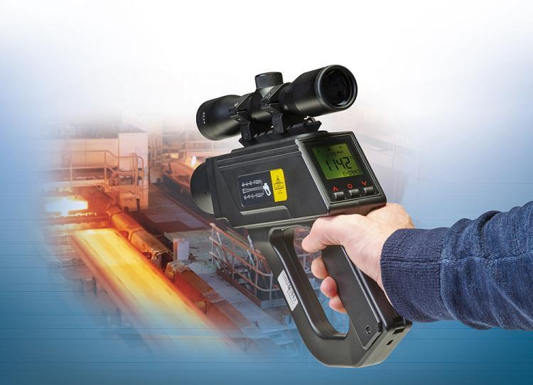 Handheld non-contact pyrometer