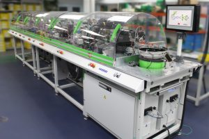 Harwin is embracing Industry 4.0 in its highly automated connector assembly processes