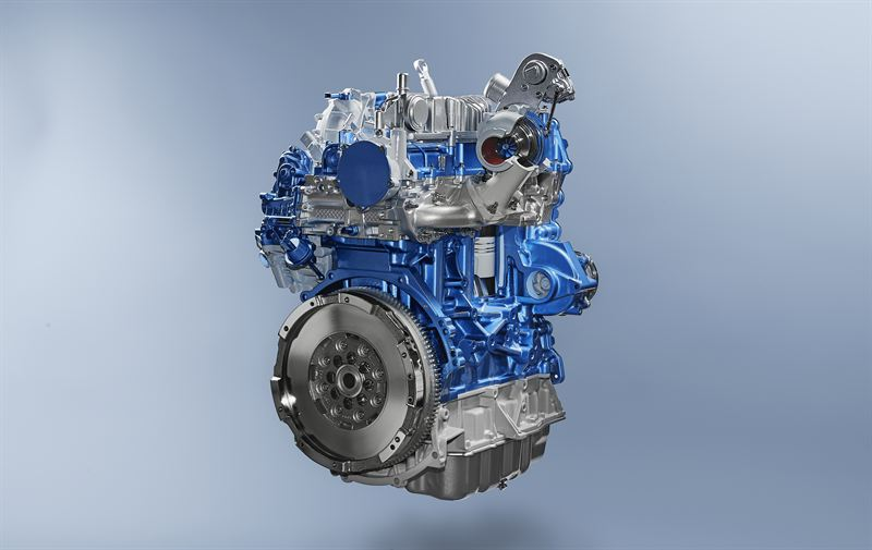 In cylinder simulation for EcoBlue diesel engines