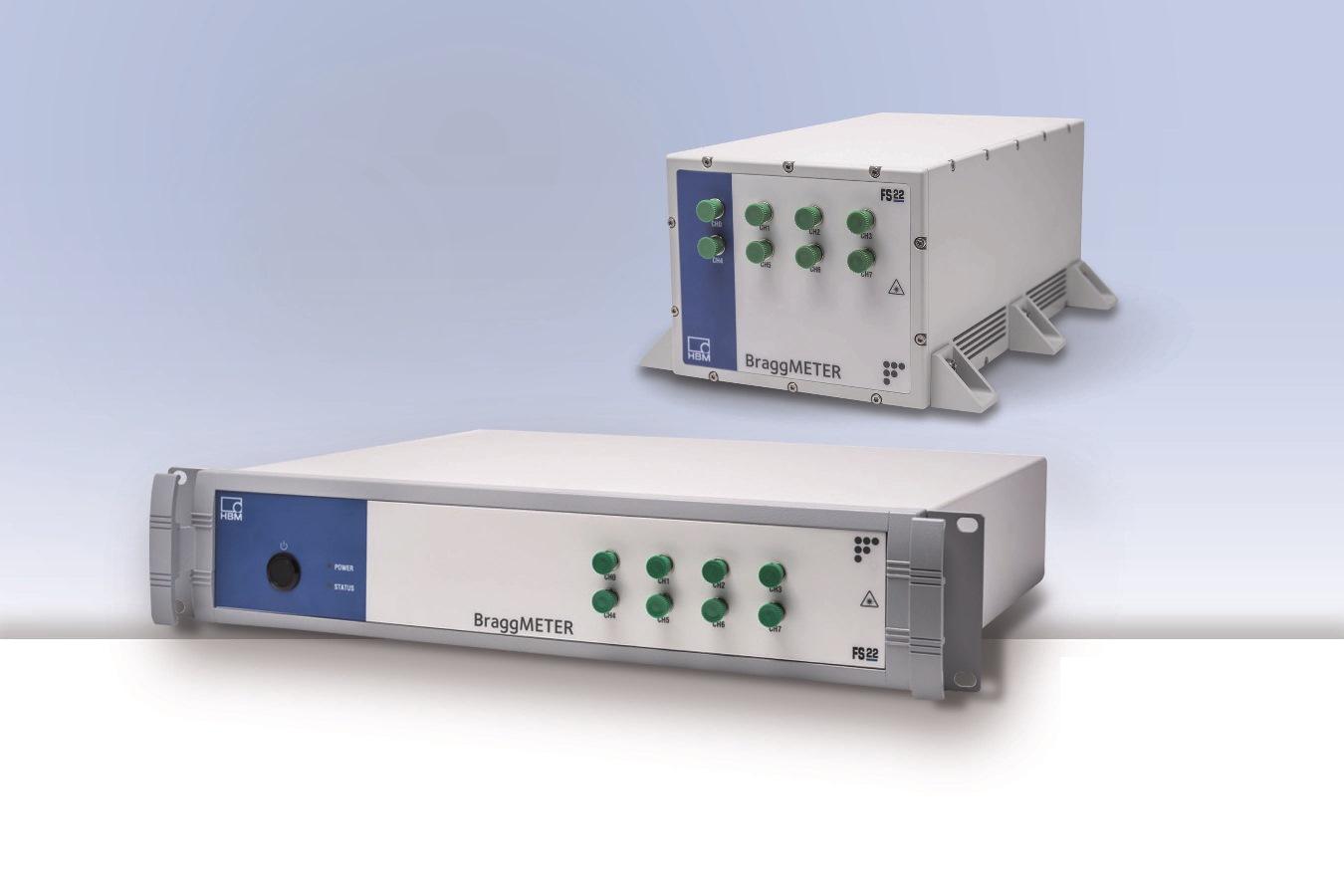Industrial BraggMETER optical measurement unit