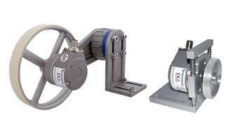 Industrial encoders help material transfer equipment