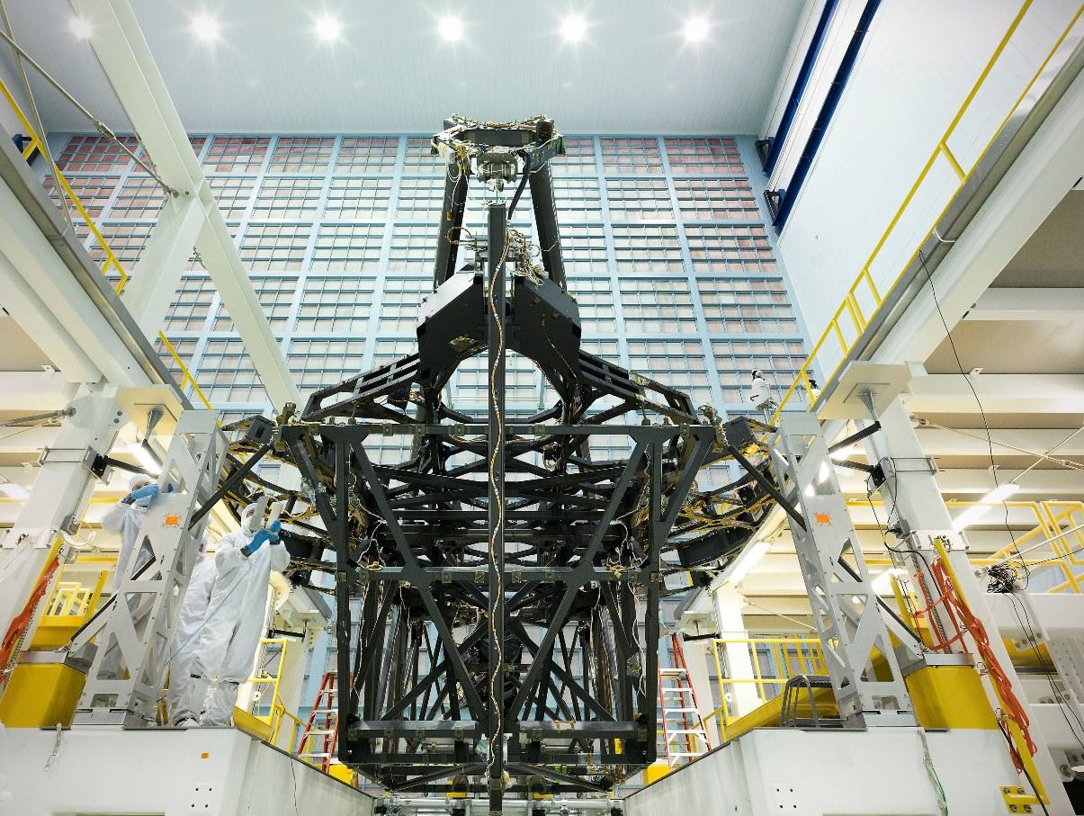James Webb space telescope undergoes stringent climatic testing
