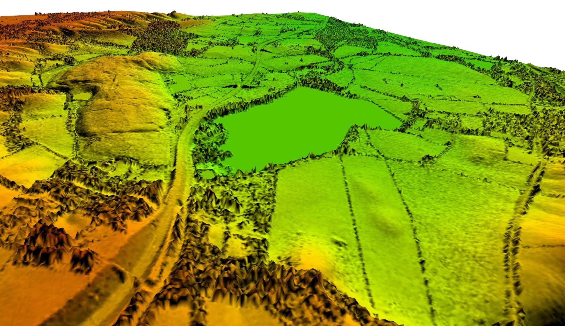 Laser map LiDAR image