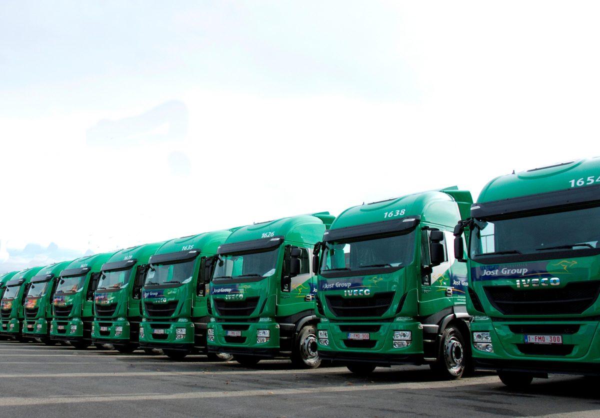 Logistics company converts to LNG greener vehicles