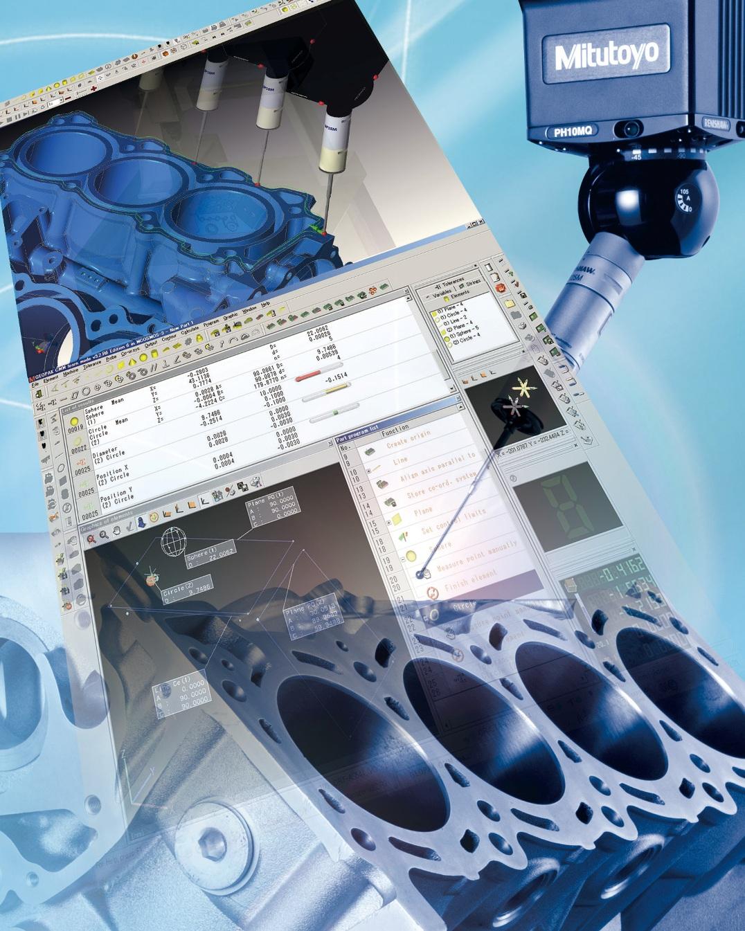 Mitutoyo MCOSMOS metrology software