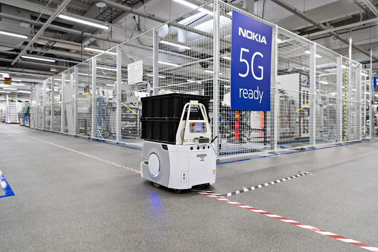 Nokia trials 5G for Industry 4 at its Oulu factory