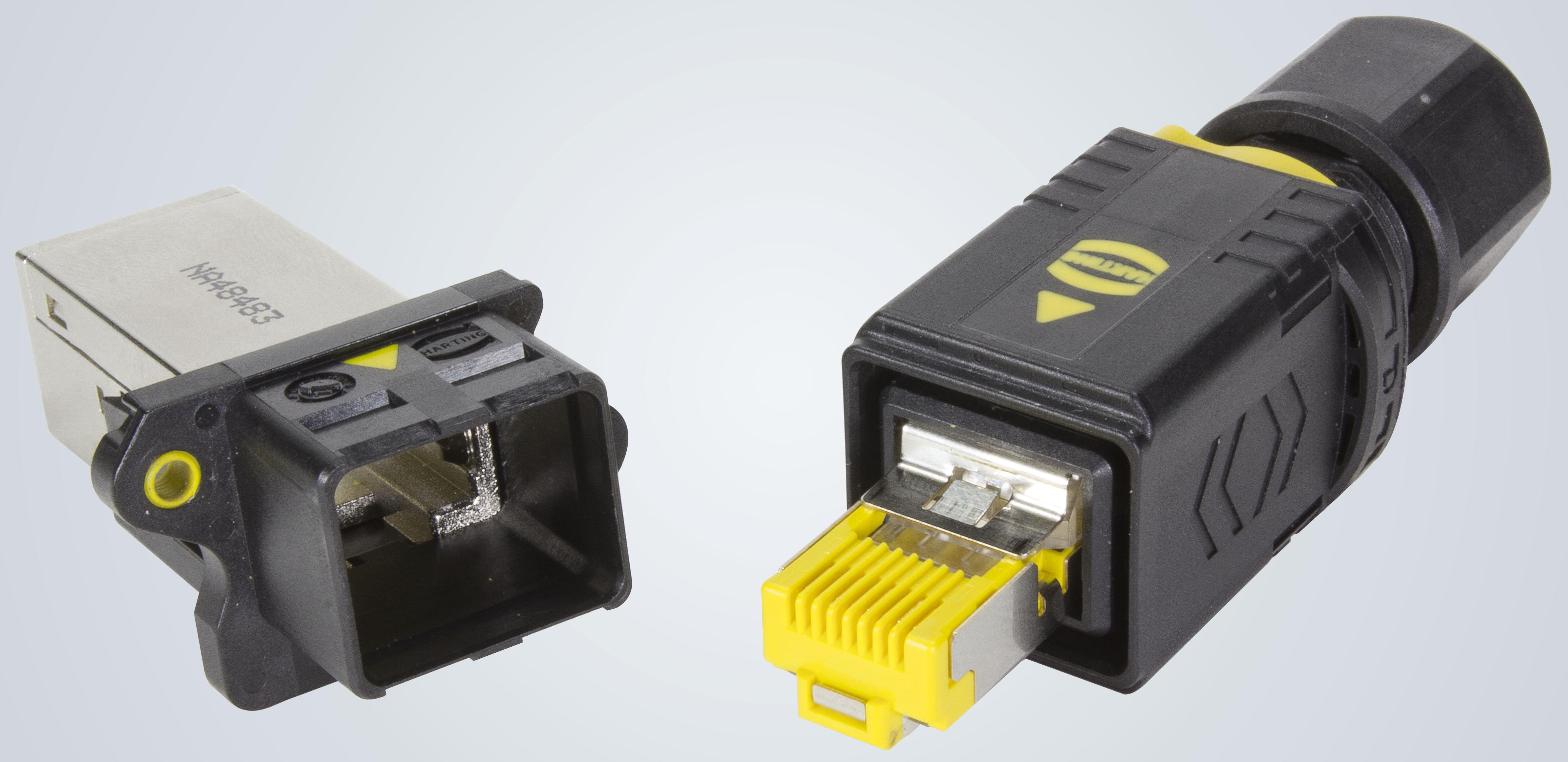 PushPull V4 industrial connector