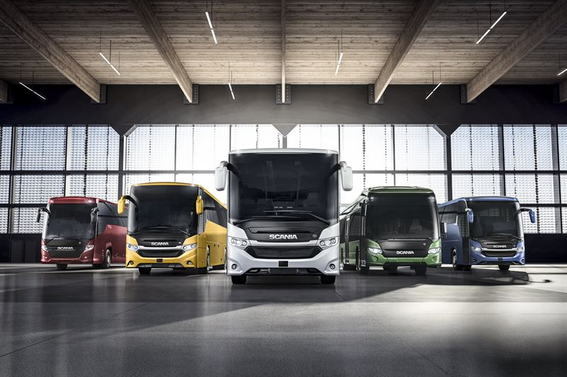Scania expands its range of alternatively fuelled buses