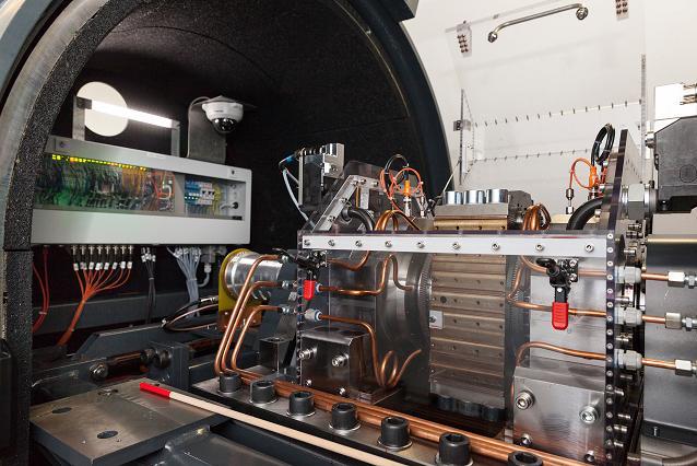 Spin testing roller bearings