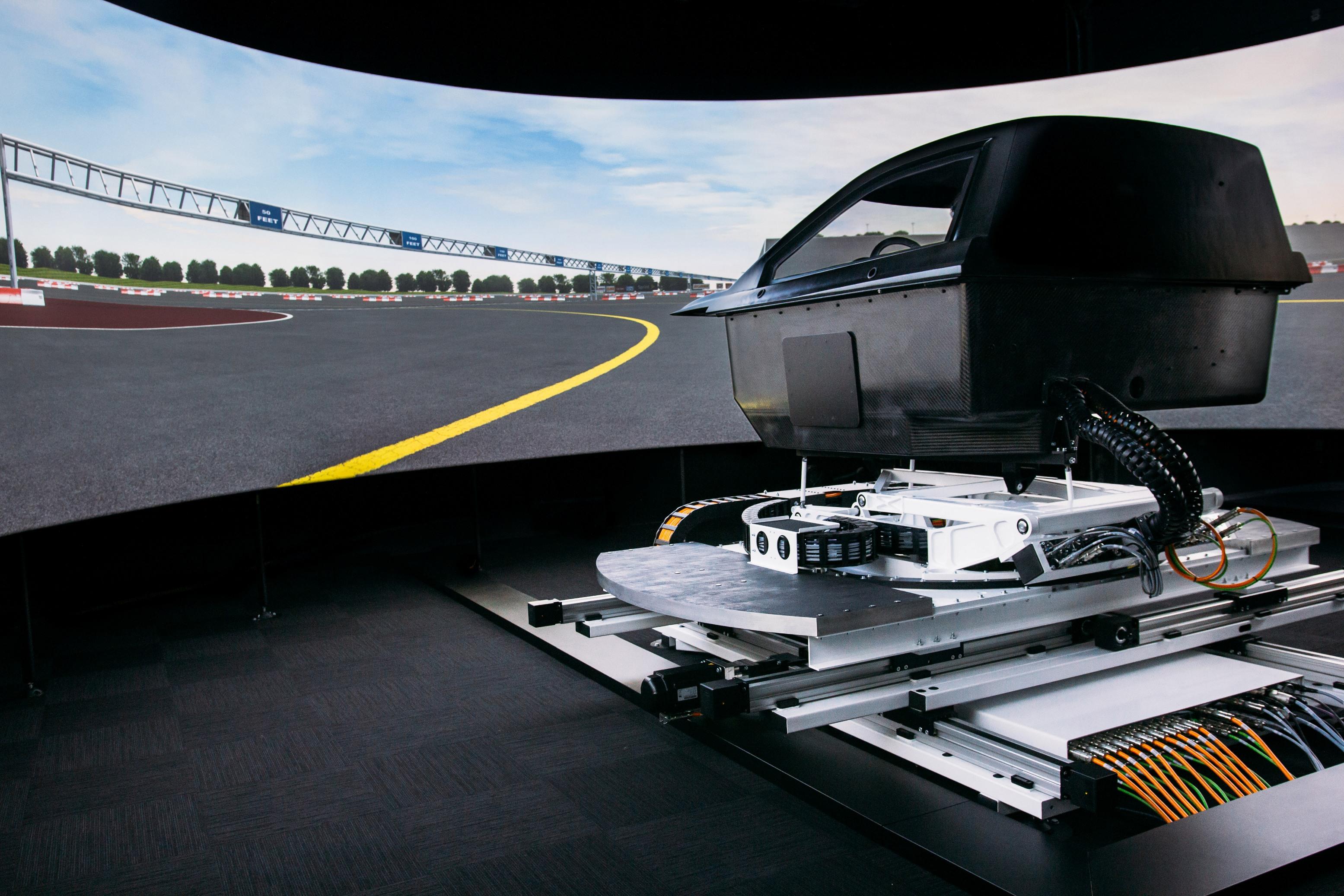 Stratiform platform provides highly responsive motion profile