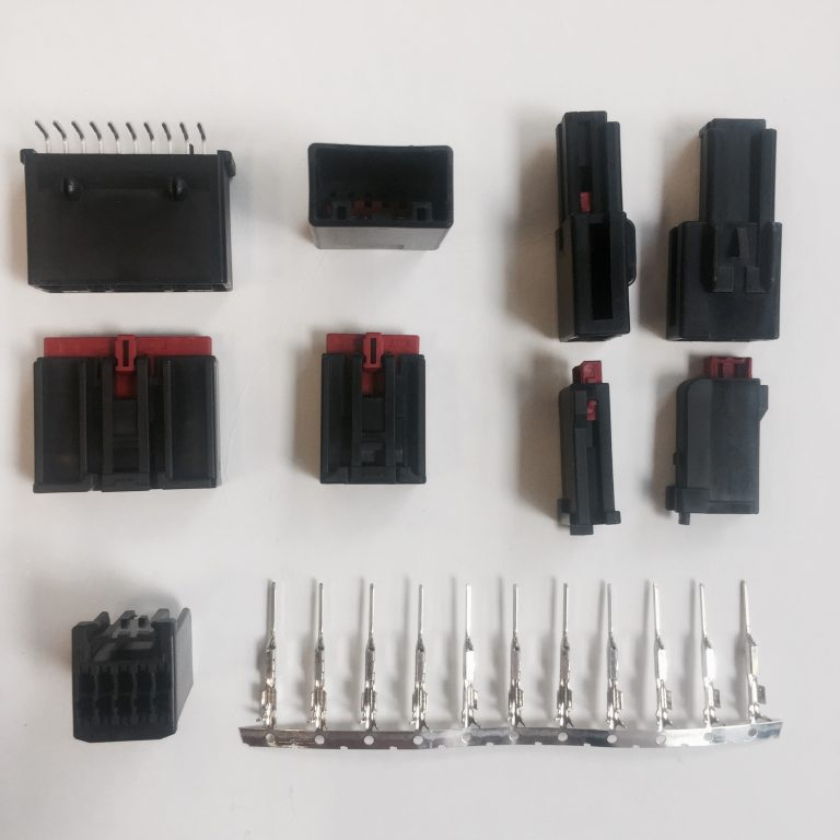 Ultra low profile JST automotive connectors