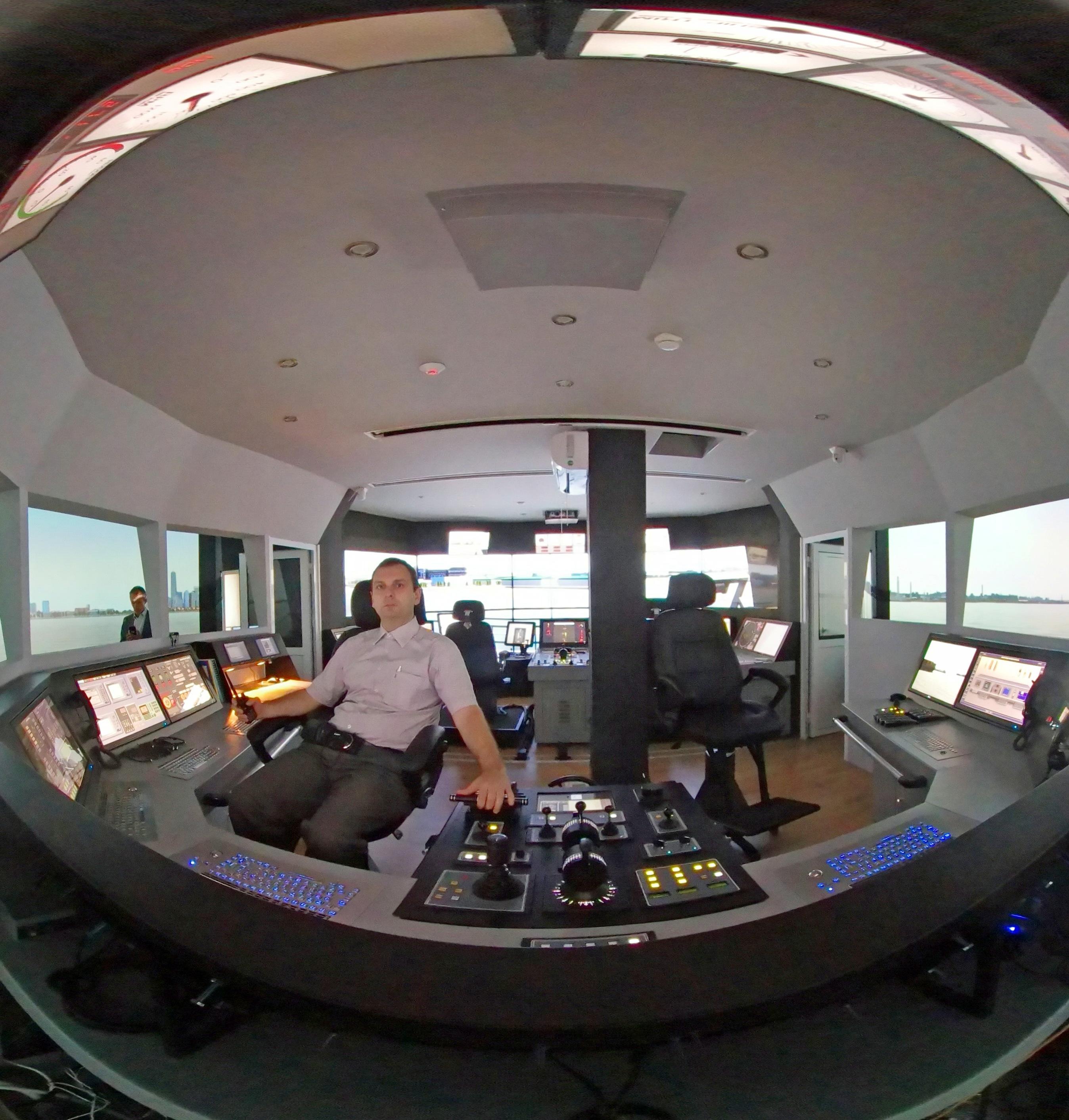 VSTEP simulator at Bulgarian Naval Academy